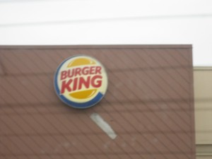 A generic burger joint