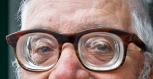 Man with very thick glasses