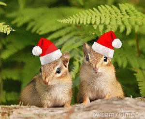 santa-chipmunks