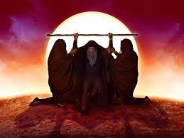 Moses-staff-Aaron-Hur